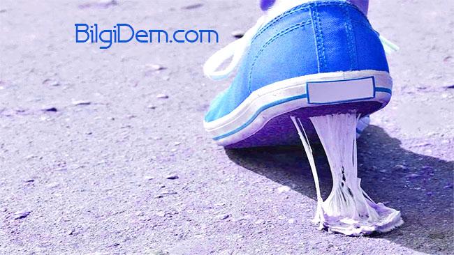 Ayakkabının Altına Yapışan Sakız Nasıl Temizlenir