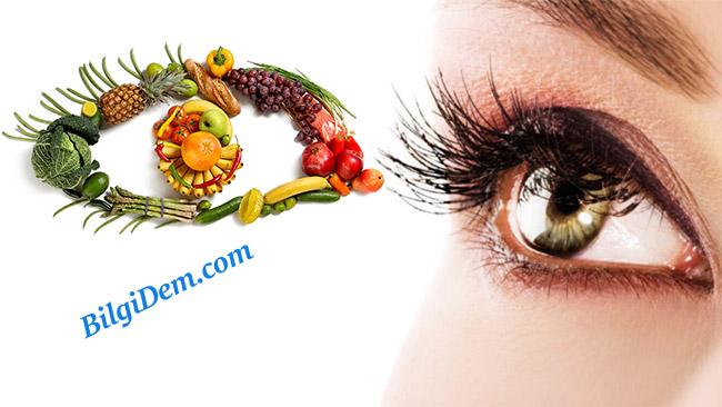 Göz Sağlığına İyi Gelen A Vitamini İçeren Besinler
