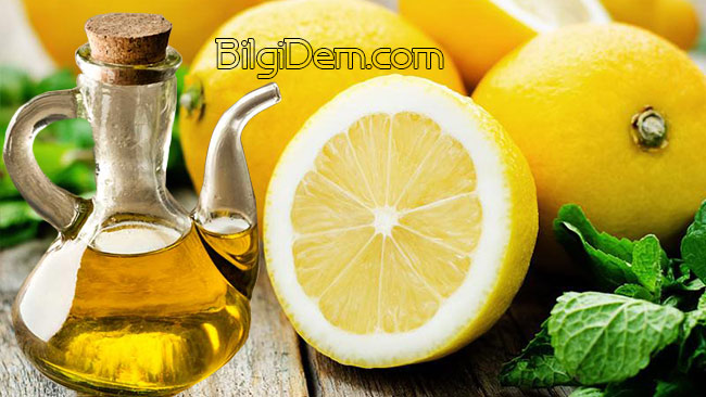 Zeytinyağı Ve Limon Karışımının Sağlık İçin Faydaları