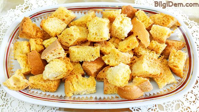 Bayatlayan Ekmeklerden Galeta Unu Ve Çerez Yapımı