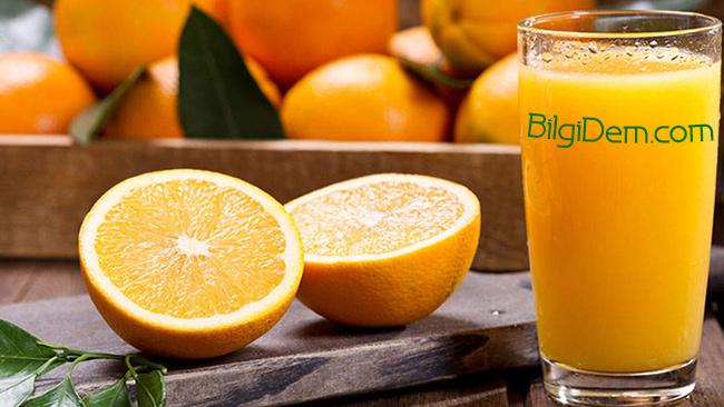 Taze Portakal Suyunun Faydaları Nelerdir?