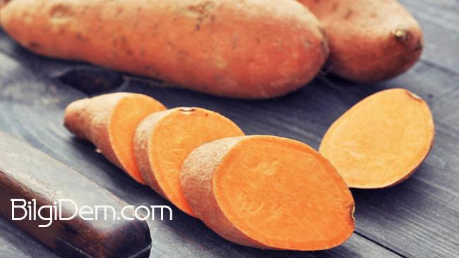 Sweet Potatoes -Tatlı Patates'in Faydaları