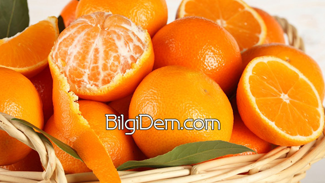 Citrus reticulata – Mandalinanın Faydaları