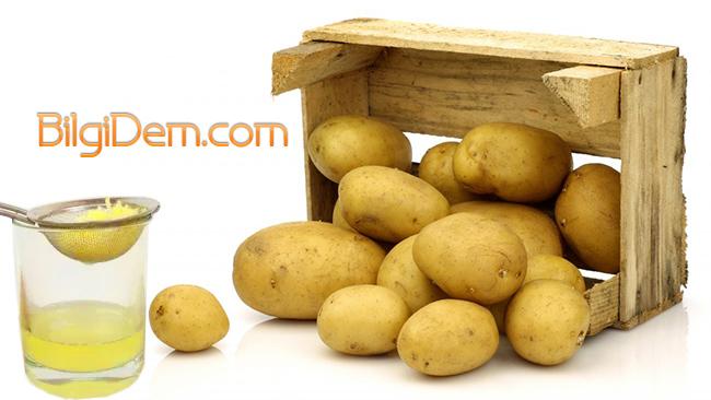 Patates Suyu Nasıl Hazırlanır? Patates Suyu Nasıl Saklanır?