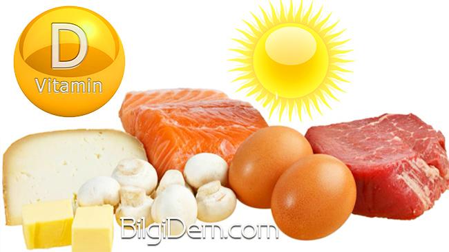D Vitamini İçeren Besinler Nelerdir?