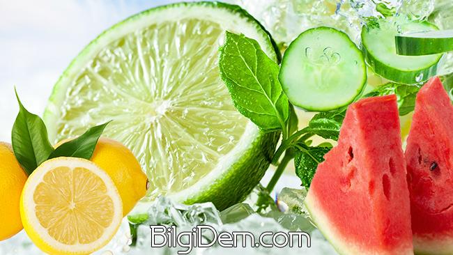 Karpuz, Salatalık, Limon İle Lezzetli Bir İçecek Nasıl Yapılır