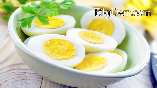 Yumurta Kilo Vermenize Yardımcı Olur