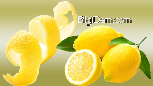 Limon Kabuğu Çok Yararlı Ama Limon Kabuğu Nerede Kullanılır?