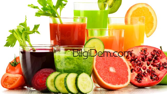 Kötü Kolesterolü Düşüren Meyve Suları