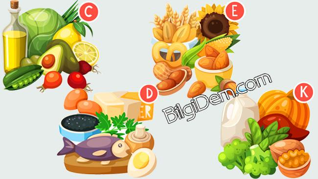 Sağlık İçin Gerekli Vitaminler Nelerdir Ve Nelerde Bulunur